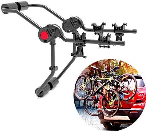 ためにヒッチマウントトレイバイクラックために自転車マウンテンバイク全モデル 、自転車を2台追加 Ljianw (Color : Black, Size : 2 bicycles)
