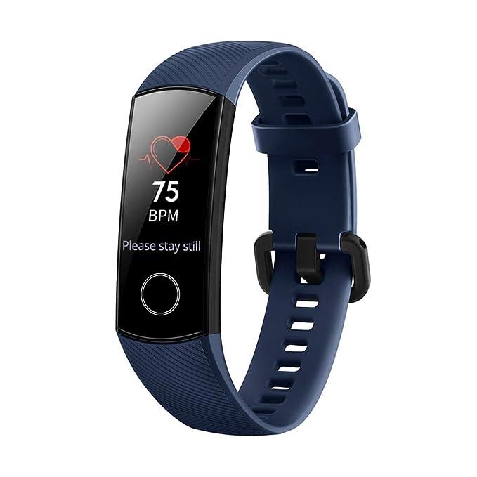 Honor - Bracelet dactivité intelligente Huawei Honor Band 4 (Modèle 2019) Bleu: Amazon.fr: Sports et Loisirs