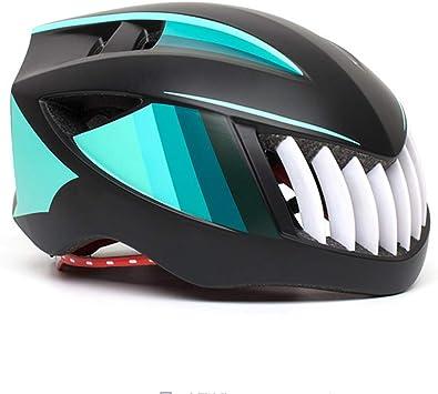 GLEI-TK Cascos Bicicleta Casco de tiburón Forma Integral ...