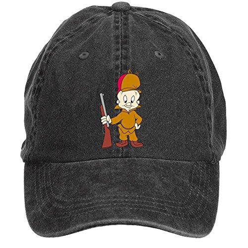 kettyny-unisex-elmer-fudd-design-baseball-cap-hats