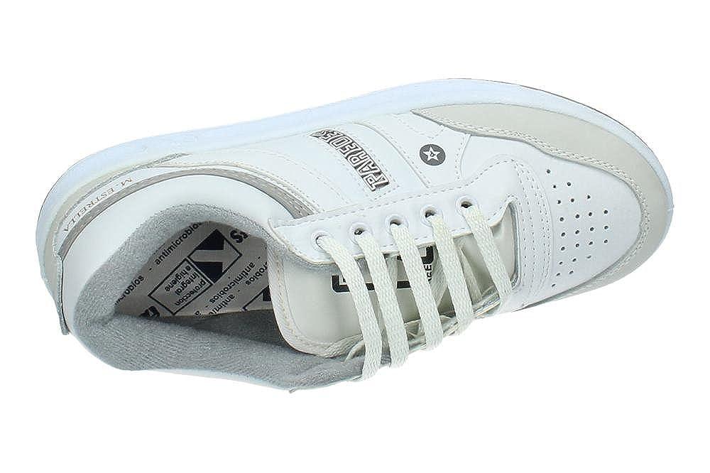 Paredes- Zapatillas Trabajo DP100 BL Estrella blanco PAC103S  Amazon.es   Zapatos y complementos e2296686e527