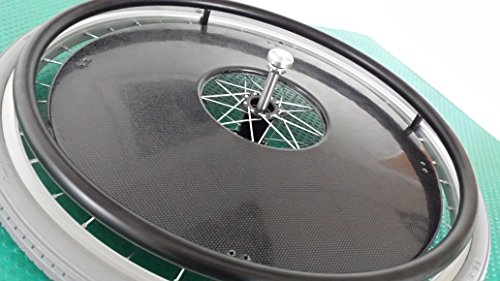 Wheelchair Spoke Guards - (24, Carbon Fiber Effect) (22