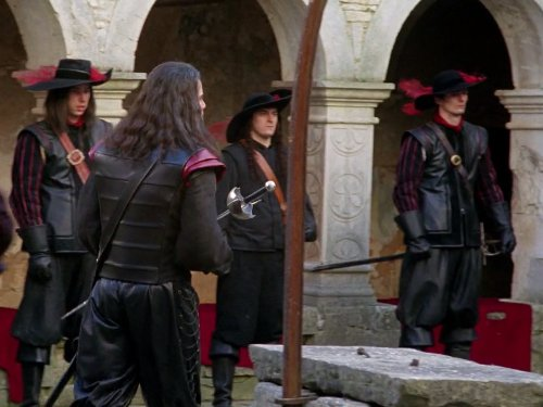 la femme musketeer movie trailer and videos tvguidecom