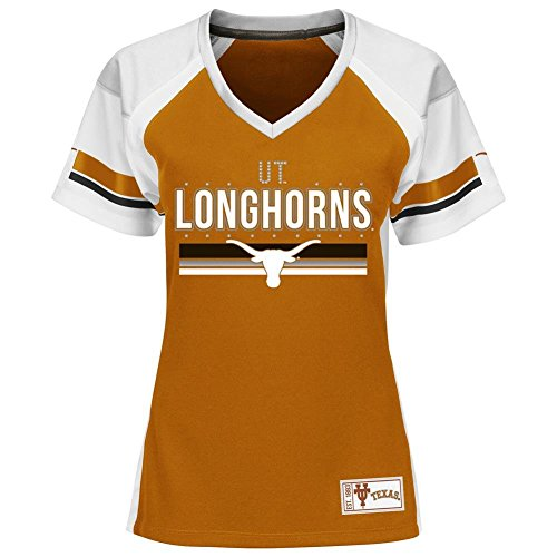 Majestic Texas Longhorns Jersey Draft Me Fashion Top Large