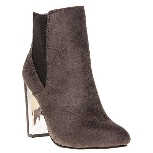Dolcis Olb455 Damen Stiefel Grau Grau