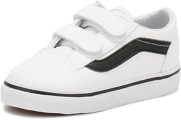 Vans TD Old Skool V True White Leather