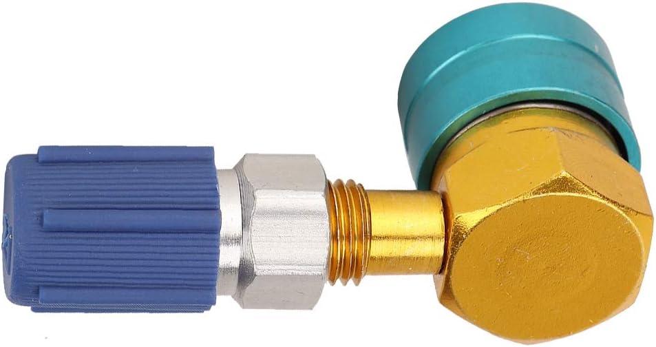 da auto R1234YF a R134A Adattatore rapido per basso lato auto Aria condizionata Raccordo Adattatore rapido per climatizzatore