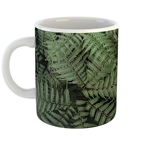Westlake Art - Coffee Cup Mug - Leaf Leaves - Modern Picture Photography Artwork Home Office Birthday Gift - 11oz (Jakarta Leaf)
