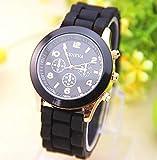 RICISUNG Hot sale New Fashion Designer Ladies sports brand silicone watch jelly watch quartz watch for women men