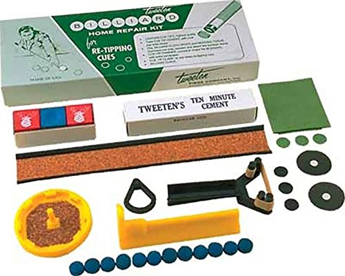 Tweeten Deluxe Cue Tip Repair Kit