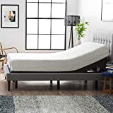 Lucid L300 Adjustable Bed Base with Dual USB
