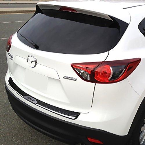 Mazda CX-5 tronco Sill Scuff Plate parachoques trasero protector: Amazon.es: Coche y moto