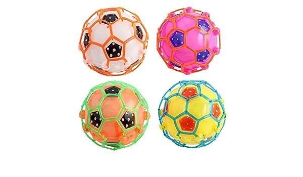 4 pcs flash balón de fútbol música - Creative Flash eléctrica ...