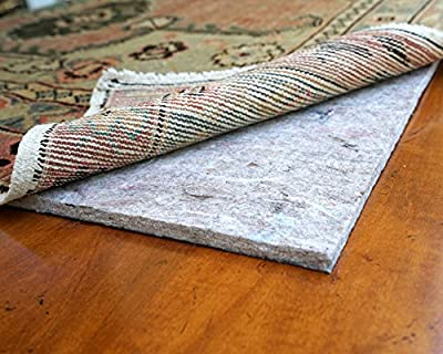 RUGPADUSA UB + Rubber Rug Pad Safe for Hardwood and All Surfaces