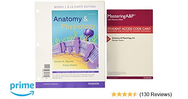 Amazon anatomy physiology books a la carte plus mastering amazon anatomy physiology books a la carte plus mastering ap with pearson etext access card package 6th edition 9780134324241 elaine n fandeluxe Gallery