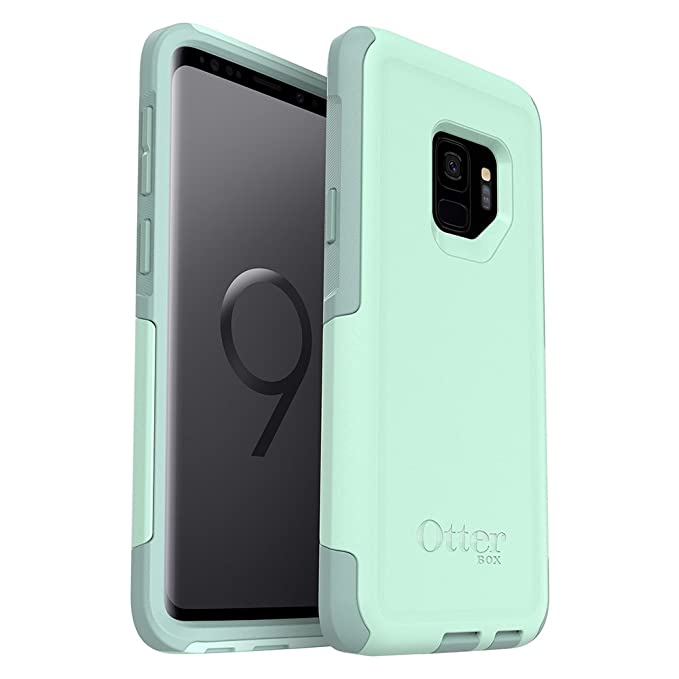 hot sales ddf33 6843c OtterBox Commuter Series Case for Samsung Galaxy S9 - Frustration Free  Packaging - Ocean Way (Aqua SAIL/Aquifer)