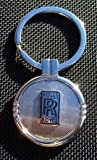 ROLLS ROYCE (black) Keychain with Free Engraving