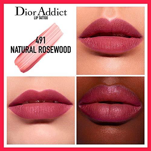 Dior Addict Long Wear Lip Tattoo Tint Color Natural Rosewood