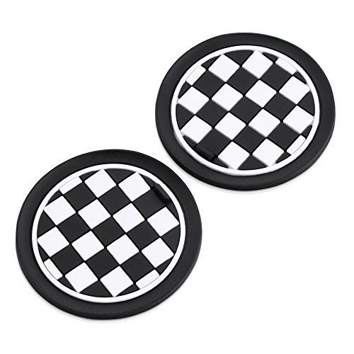 9 MOON Cup Holder Coasters For MINI Cooper R55 R56 R57 R58 R59 Front Cup Holders - 73mm (Mini Cooper Cup Holder Oem)