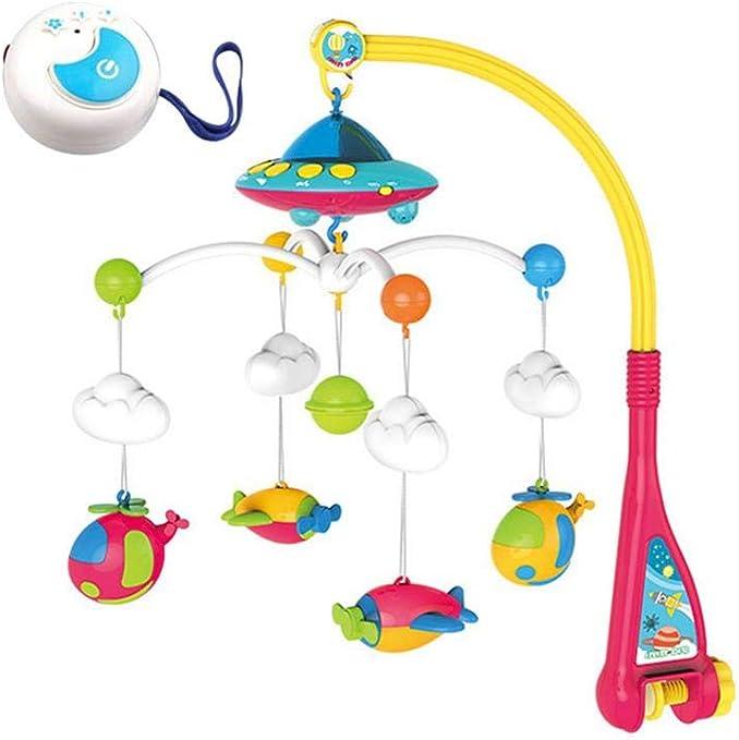 Campana Juguete Educativo,Juguete móvil de cuna musical con luces ...
