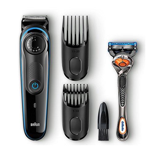 Braun BT3040 Beard / Hair Trimmer for Men – Ultimate precision for...
