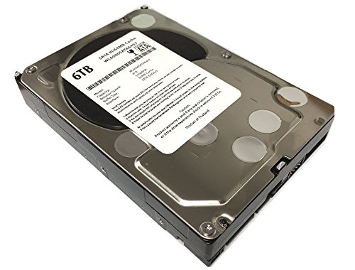 WL 6TB 5700RPM 64MB Cache 5700RPM SATA III (6.0Gb/s) 3.5″ Internal Hard Drive (Desktop PC, CCTV DVR, NAS) – w/1 Year Warranty