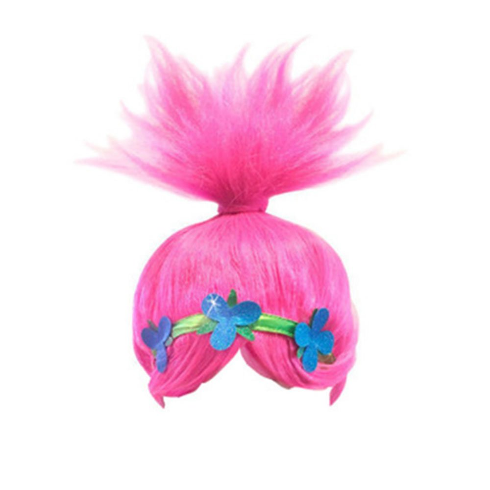 Supersnailman Girls Poppy Dress Christmas Cosplay Wigs for Costume