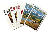 Rocky Mountain National Park - Colorado - Fall and Elk (Playing Card Deck - 52 Card Poker Size with Jokers)