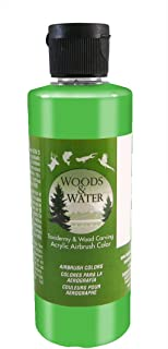 product image for Badger Air-Brush Co. 16-Ounce Woods and Water Airbrush Ready Water Based Acrylic Paint, Bright Green