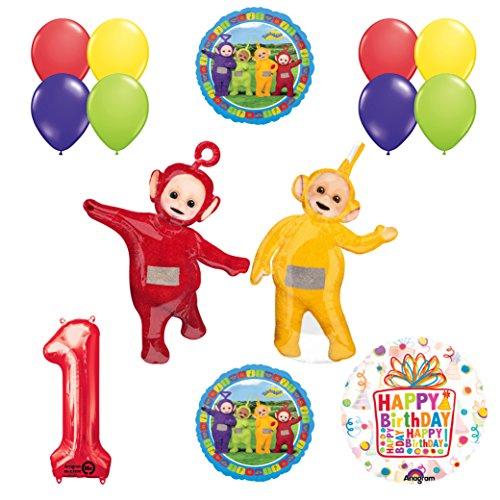 Teletubbies 1st birthday LAA-LAA & PO Balloon Birthday Party supplies and Decorations