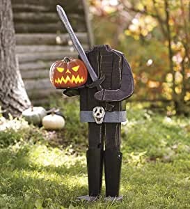 Headless Horseman Pumpkin Holder