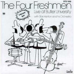 The Four Freshmen Live at Butler University with Stan Kenton & His Orchestra [Vinyl] by Gnp Crescendo