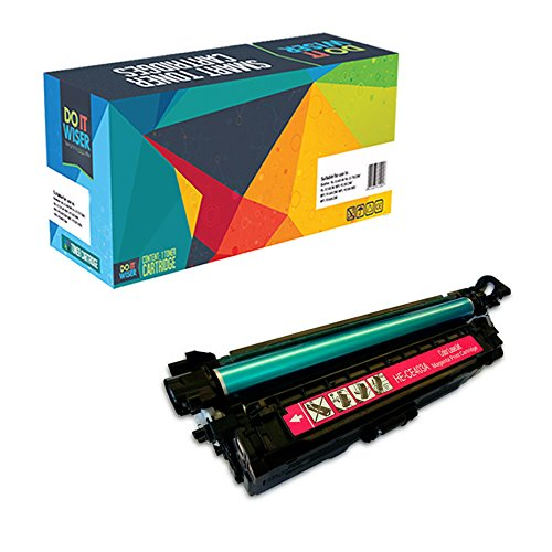 Do it Wiser Refurbished Toner Cartridge for HP Color LaserJet 5500 5500dn 5500dtn 5500hdn 5500n 5550 5550dn 5550dtn 5550hdn 5550n C3500 - C9733A - Magenta (Colour 5550n)
