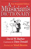 Musician's Dictionary, David W. Barber, 0920151213