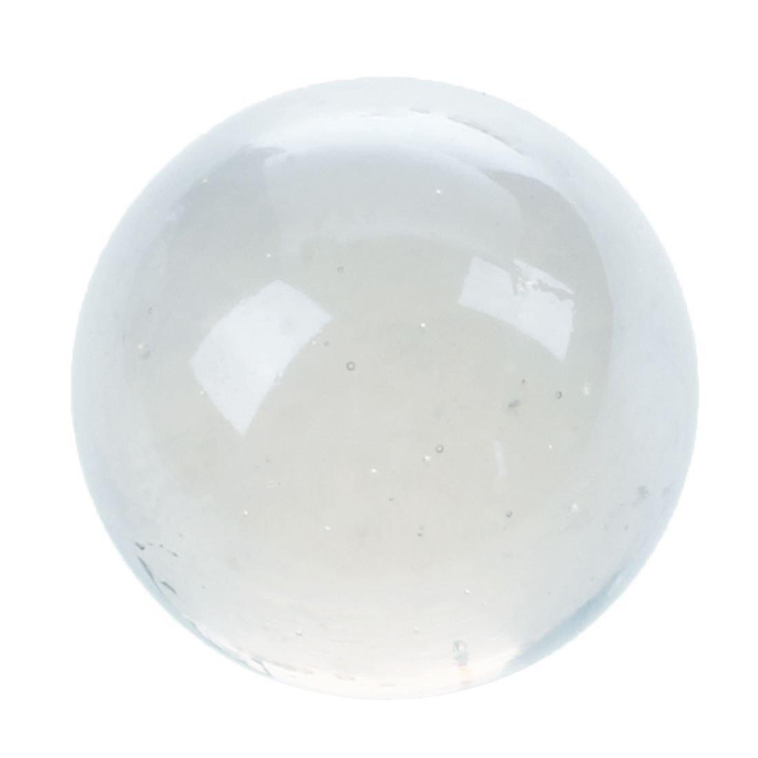 1 Bille d'art cristal de 5 cm en verre de Bohème Translucide sans bulle d'air