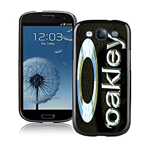 Fashion Designed Cover Case For Samsung Galaxy S3 I9300 With Oakley 8 Black Phone Case
