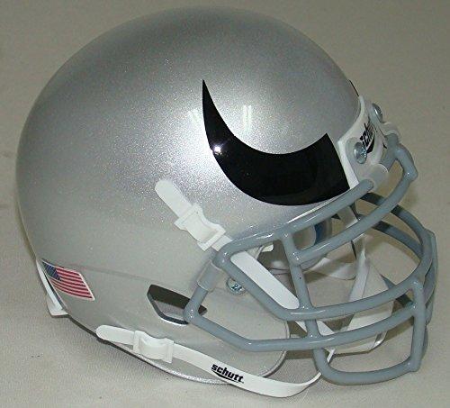 rey with Horn Alternate Schutt Authentic Mini Helmet (Colorado Buffaloes Mini Helmet)