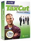 Software : H&R Block TaxCut 2008 Premium Federal + e-file (Old Version)