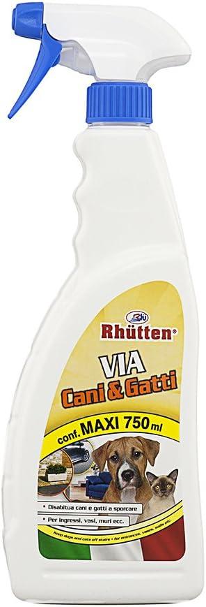 Rhütten 280622 Producto Repelente para Mascota Flavour Deterrent Dog & Cat - Productos repelentes para Mascotas (Flavour Deterrent, Dog & Cat, 750 ml)