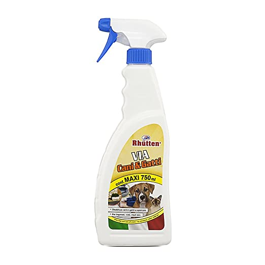 22 opinioni per Rhutten 280622 Spray Via Cani e Gatti Repellente, 750 ml