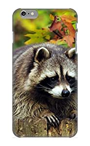 Crooningrose High Grade Flexible Tpu Case For Iphone 6 Plus - Animal Raccoon( Best Gift Choice For Thanksgiving Day)
