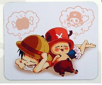 Petty camarote Anime japonés una sola pieza tamaño Pequeño ratón Pad Tony Tony Chopper ratón Pad 9,8 * 7,4 * 0,11 cm: Amazon.es: Oficina y papelería