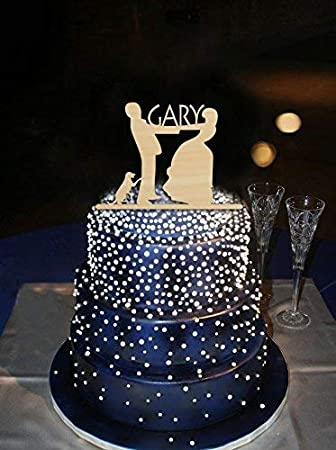 Unique Wedding Cakes.Unique Wedding Cake Topper Bride And Groom Hand In Hand Custom Name