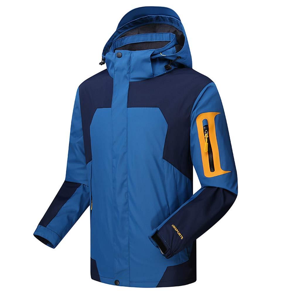 Allywit Ski Jacket Men Waterproof Warm Cotton Coat Mountain Snowboard Windbreaker Hooded by Allywit