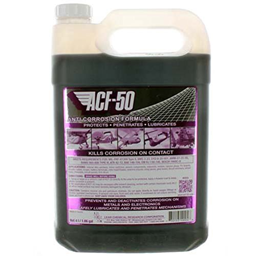ACF-50 Anti-Corrosion Lubricant Formula - 4 Liter Bottle by LEAR CHEMICALS