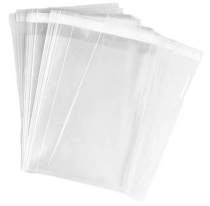 TUPWEL 50 Bolsas de Celofán de plástico para Almacenamiento ...