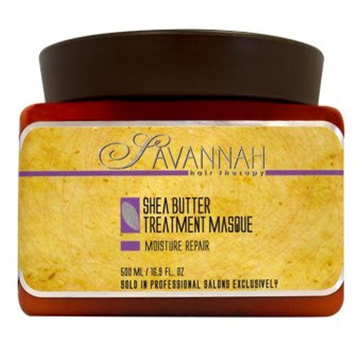 Savannah Hair Therapy Moisture Repair Shea Butter Treatment Masque 500ml/16.9oz