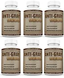 Anti Gray Hair 9000 Helps Restore Natural Hair Color 60 Capsules Per Bottle 6 Pack