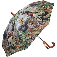 Kid's Animal Kingdom Stick Umbrella
