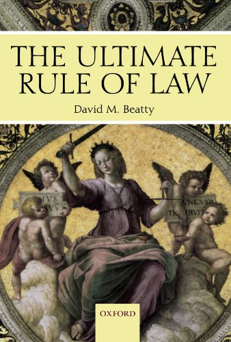 The Ultimate Rule of Law by Oxford University Press
